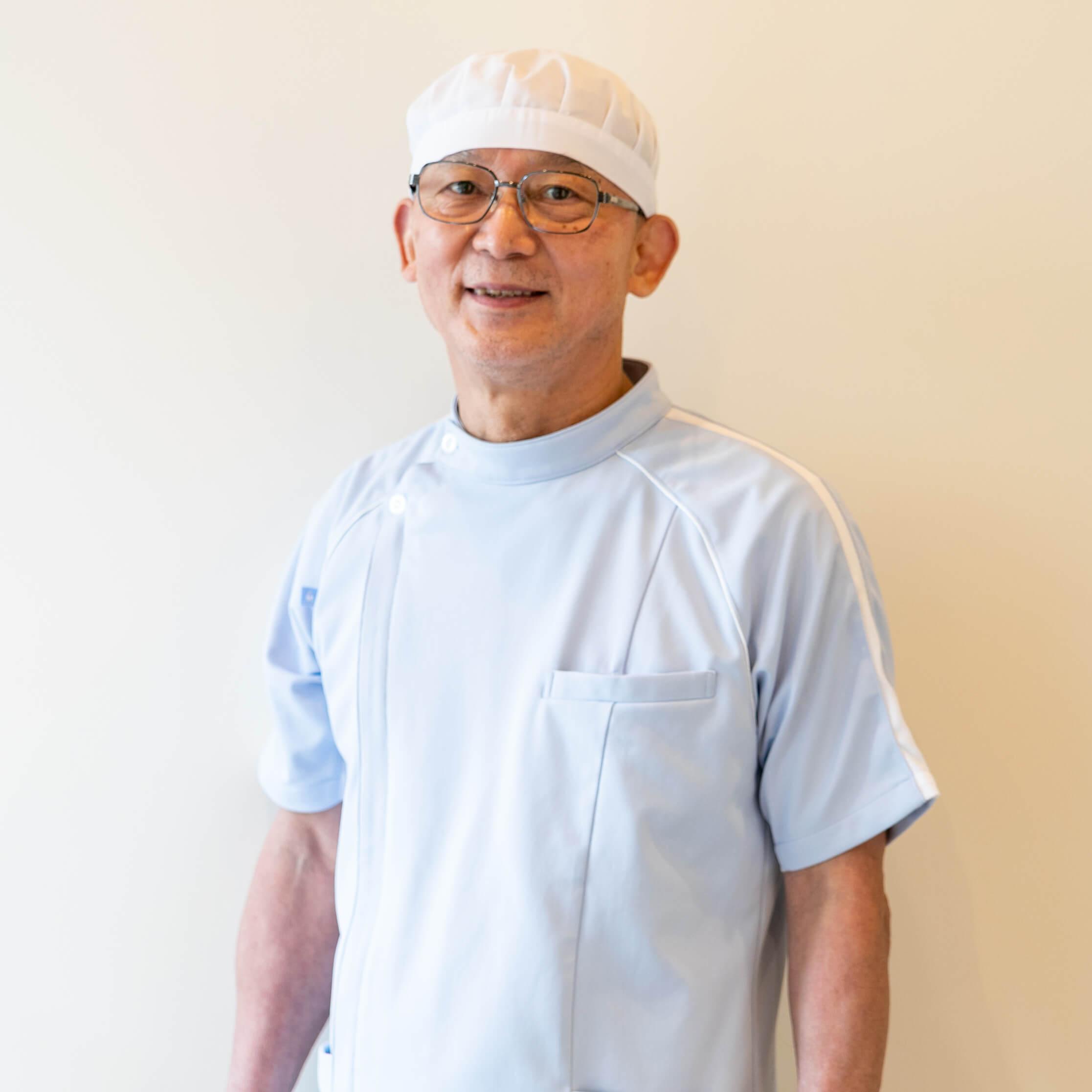 理事長の中川泰彰